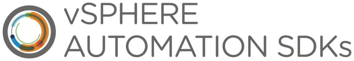 vSphere Automation SDKs
